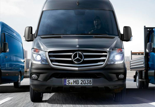 Mercedes Benz furgoneta